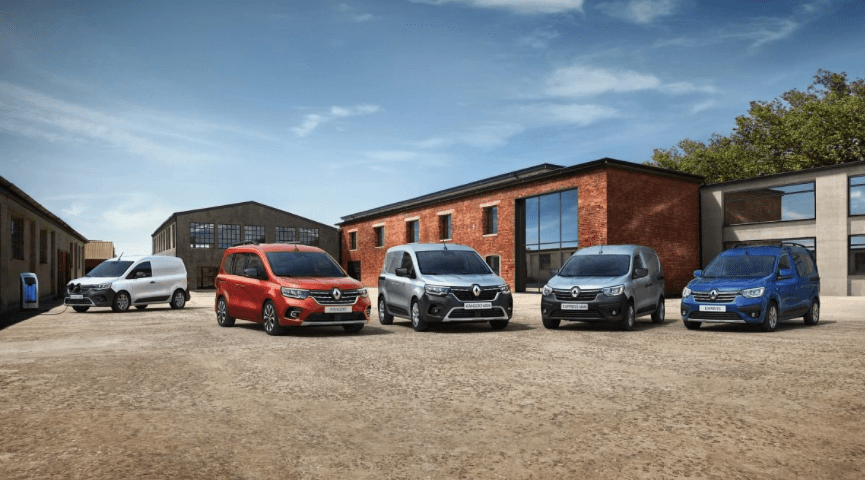 Renault hat eine aktualisierte Version des Kangoo-Nutzfahrzeugs gezeigt.
