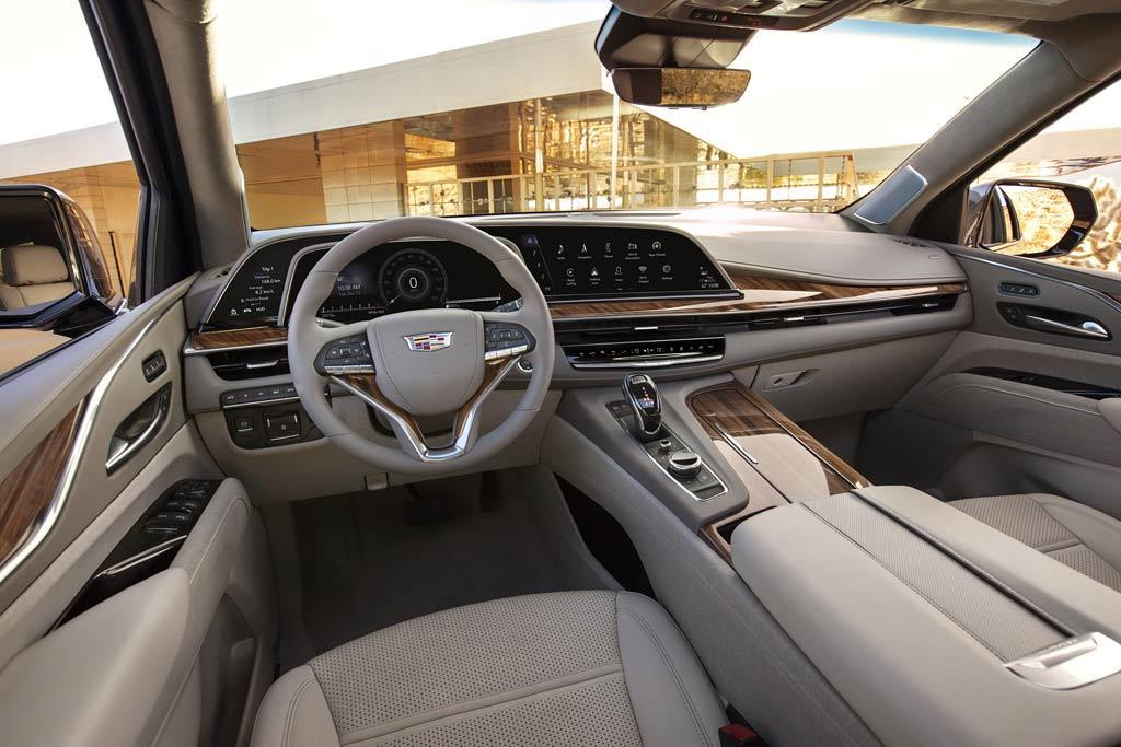 salon neuen 2021 Cadillac Escalade