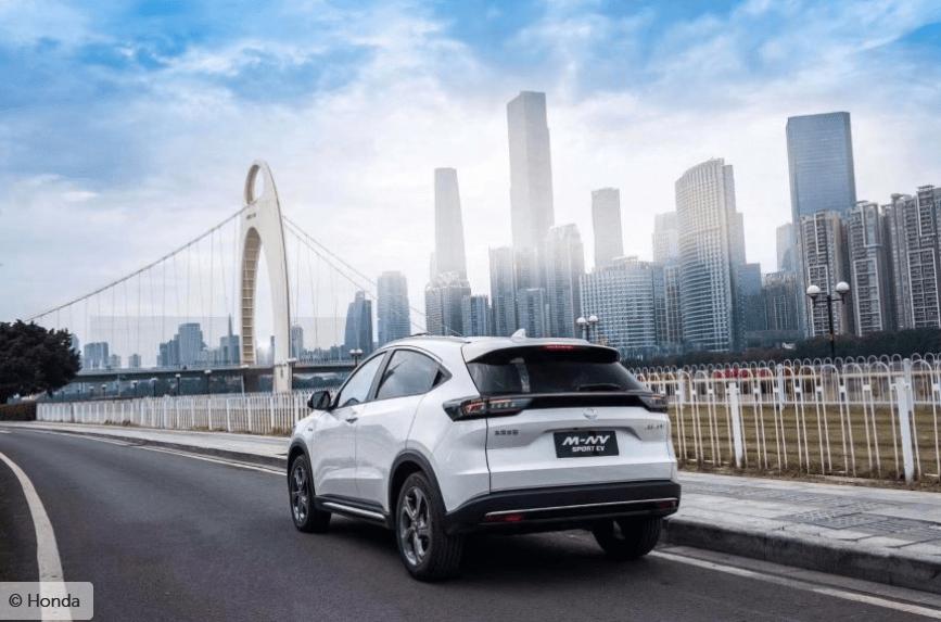 Honda enthüllt noch ein elektrisches Kreuz