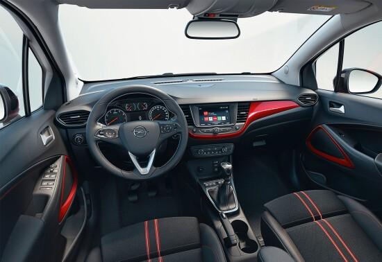 Innere Opel Crossland 2021